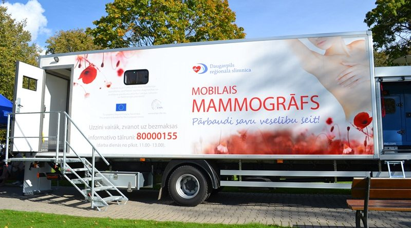 Aicinām uz mamogrāfijas izmeklējumu!