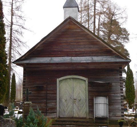 Lūgums ziedot Patmaļu kapličas jumta seguma atjaunošanai