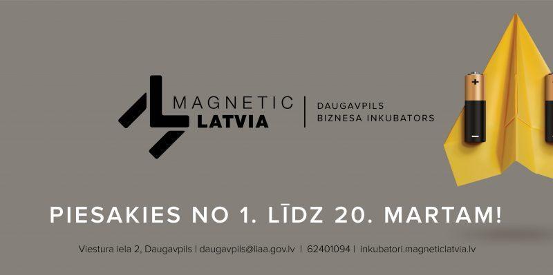 LIAA Daugavpils biznesa inkubators uzņem jaunus biznesa ideju autorus un uzņēmējus.