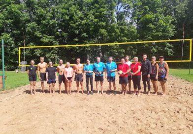 Līksnas pagasta MIX turnīrs pludmales volejbolā